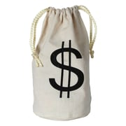 Beistle Money Bag, 8 1/2 x 6 1/2