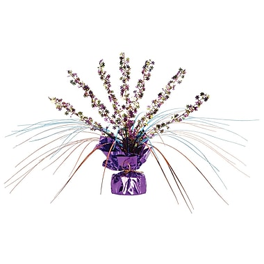 Retro Flowers Gleam 'N Spray Centerpiece, 11