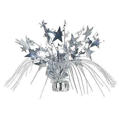 Centre de table d'étoiles Gleam 'N Spray, 11 po, argenté, 3/paquet