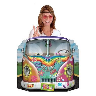 Accessoire photo bus hippie, 3 pi 1 po x 25 po, 2/paquet