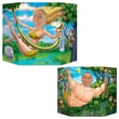 Beistle 3' 1in. x 25in. Jungle Couple Photo Prop, 2/Pack