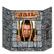 Beistle 3' 1in. x 25in. Jail Photo Prop, 2/Pack