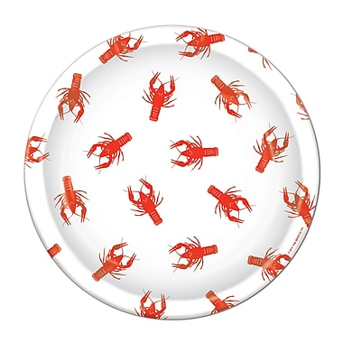 Crawfish Dinner Plates, 9