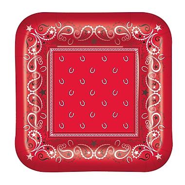 Bandana Luncheon Plates, 7