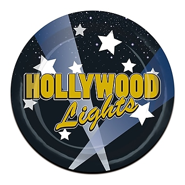 Hollywood Lights Luncheon Plates, 7