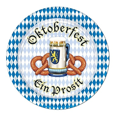 Oktoberfest Luncheon Plates, 7