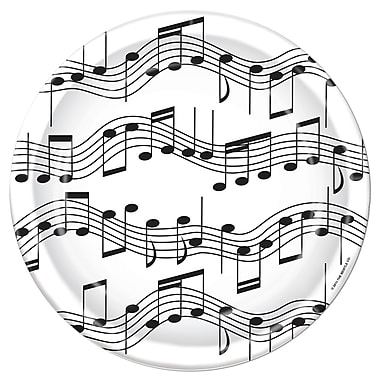 Musical Note Luncheon Plates, 7