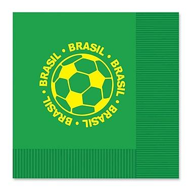 Beistle Luncheon Napkins, Brasil, 32/Pack