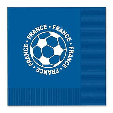 Beistle Luncheon Napkins, France, 32/Pack