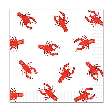 Crawfish Luncheon Napkins, Luncheon, 48/Pack