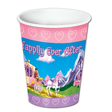 Princess Beverage Cups, 8 Ounces, 24/Pack