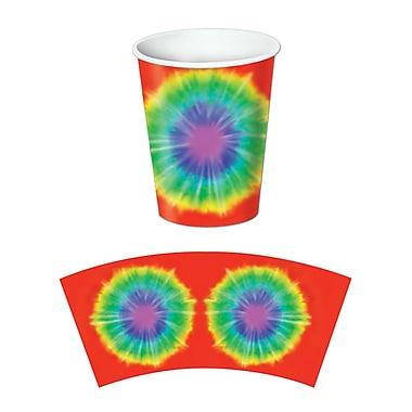 Beistle Tie-Dyed Beverage Cup, 9 oz., 24/Pack
