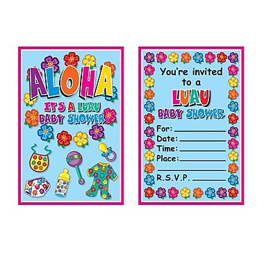 Hula Baby Invitations, 4