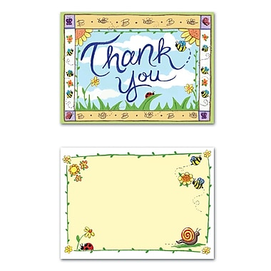 Beistle B Is For Baby Thank You Notes, 4