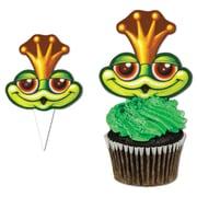 """Beistle Frog Cupcake Kit, 4"""""""