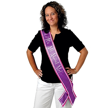 It's All About Me Satin Sash, 33