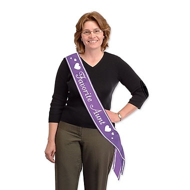 favourite Aunt Satin Sash, 33
