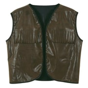 Beistle Adjustable Cowboy Vest With Fringe, Faux Brown
