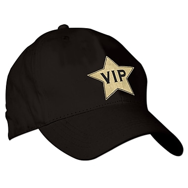 Beistle VIP Cap, Black