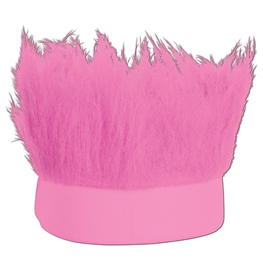 Pink Hairy Headband, One Size Fits Most, 3/Pack