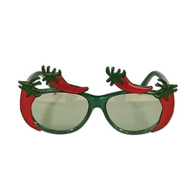 Beistle Full Head Size Chili Pepper Fanci-Frame