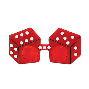 Beistle Adjustable Red Dice Fanci-Frame
