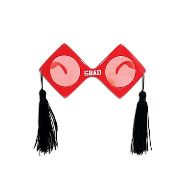 Grad Fanci-Frames, One Size Fits Most, Red, 2/Pack