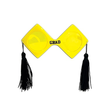 Beistle Adjustable Grad Fanci-Frame, Yellow/Black