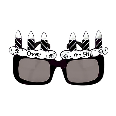 Beistle Over-The Hill Fanci-Frame, Black/White