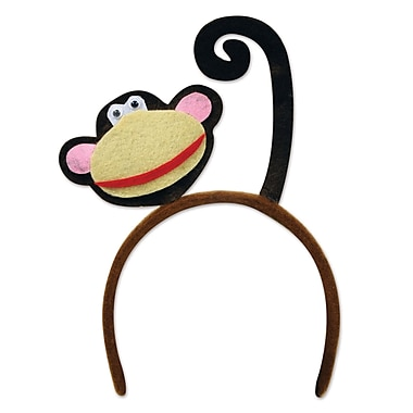 Beistle Adjustable Monkey Headband