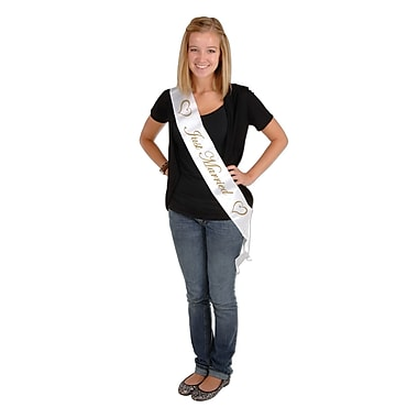 Just Married Satin Sash, 33