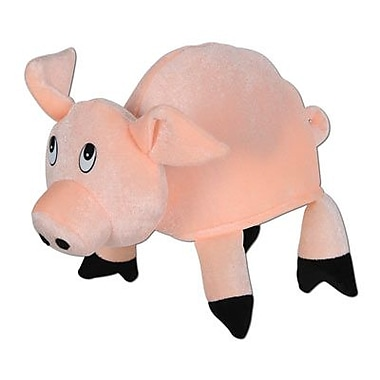 Plush Pig Hat, One Size Fits Most, 2/Pack