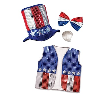 Beistle Adjustable Uncle Sam Set