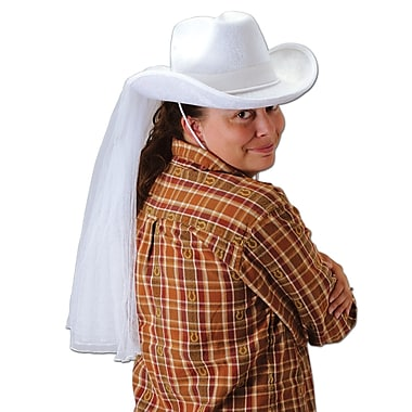 Western Bride's Hat, One Size Fits Most