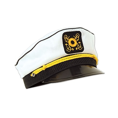 Yacht Captain's Cap, One Size Fits Most, 2/Pack