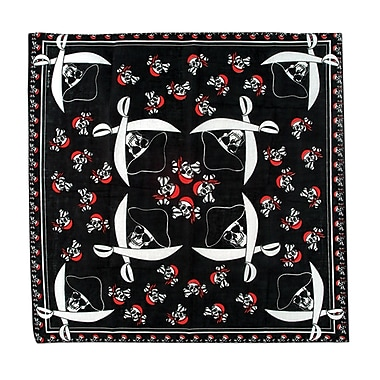 Bandana de pirate, 22 x 22 po, 5/paquet