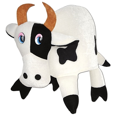 Plush Cow Hat, One Size Fits Most, 2/Pack