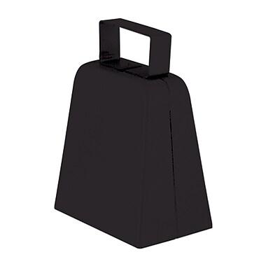 Cloches à vache noires, 4 po, paquet de 12