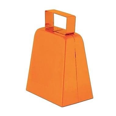 Cloches à vache oranges, 4 po, paquet de 12