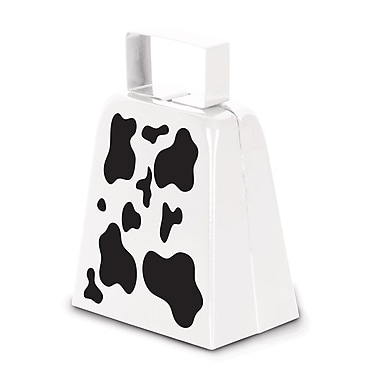 Cow Print Cowbell, 4