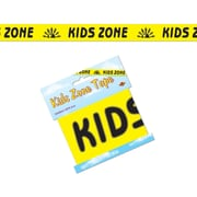 Beistle 3 x 20' Kids Zone Party Tape, Yellow, 12/Pack