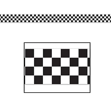 Checkered Poly Decorating Material, 3