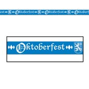Beistle 3 x 20' Oktoberfest Party Tape, 5/Pack
