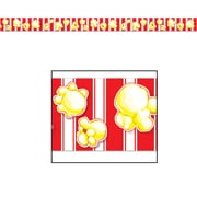 """Beistle 3"""" x 20' Popcorn Party Tape, 5/Pack"""