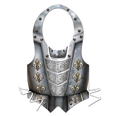 Plastic Medieval Vest, 4/Pack