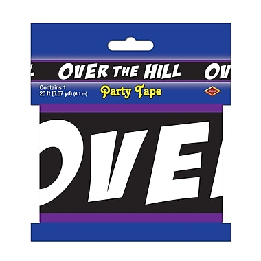 Over-The-Hill Party Tape, 3