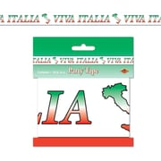 Beistle 3 x 20' Viva Italia Party Tape, 5/Pack