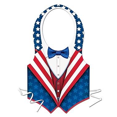 Beistle Full-Size Patriotic Vest