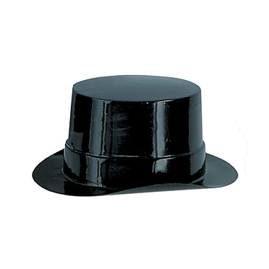 Miniature Black Plastic Topper, 4-3/4