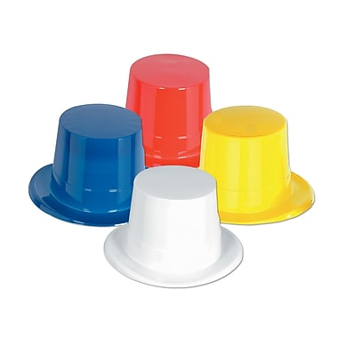 Plastic Toppers, One Size Fits Most, 8/Pack